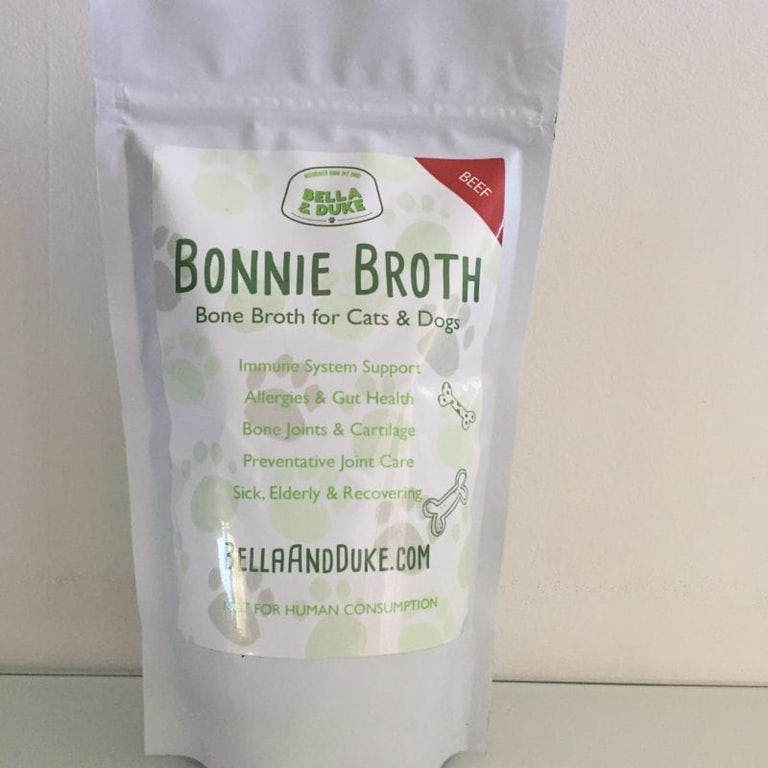 our bonnie bone broth for dogs
