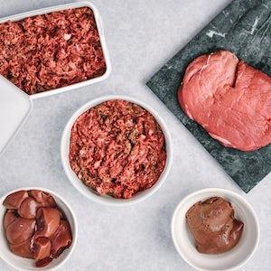 80:10:10 barf dog food Beef