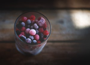 The Berries in raw dog food Ingredient