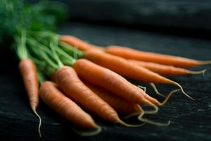 Carrots Raw Dogs Food Ingredient